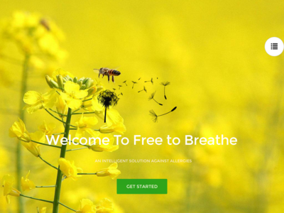 Free To Breathe homepage
