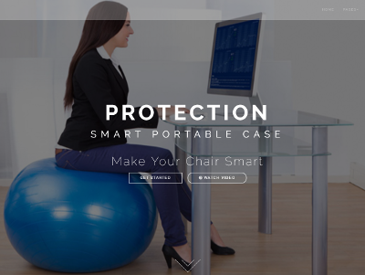 Smart Portable Case homepage